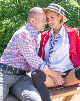 Veronica Leal, Latina Schoolgirl Enjoys Anal and Squirting-4