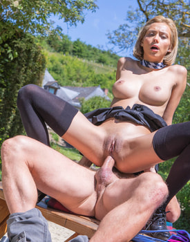 Veronica Leal, Latina Schoolgirl Enjoys Anal and Squirting-6