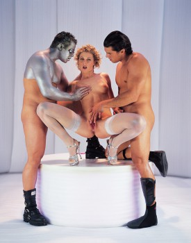 Sexy Superstar Lynn Stone Has a Futuristic Threeway-10