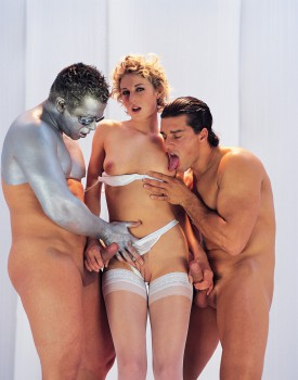 Sexy Superstar Lynn Stone Has a Futuristic Threeway-11