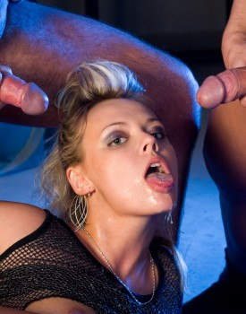Ellen Saint Gets Filled With Cum After Some Hardcore DP-11