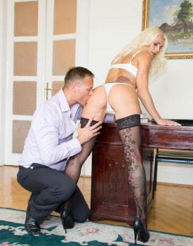 Milf Secretary Dyana Hot Fucks Her Boss in the Office-3