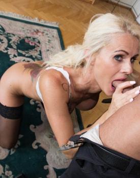Milf Secretary Dyana Hot Fucks Her Boss in the Office-7