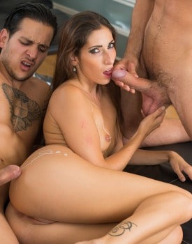 Private's Clea Gaultier Debuts in Her First Threesome -11