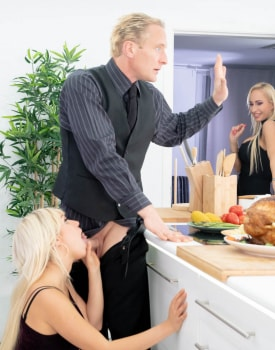 Thanksgiving Day Fuck with Father In-law-6