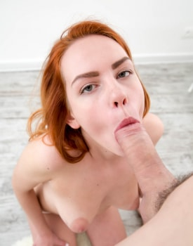 Candy, Teen redhead fucks until her ass is sticky-2