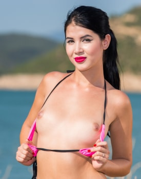 Brunette Teen Lady Dee Debuts For Private-0