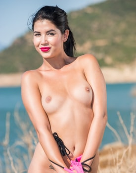 Brunette Teen Lady Dee Debuts For Private-1