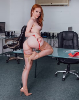 Ella Hughes Earns Her Job by Fucking the Boss-2
