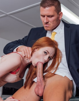 Ella Hughes Earns Her Job by Fucking the Boss-6