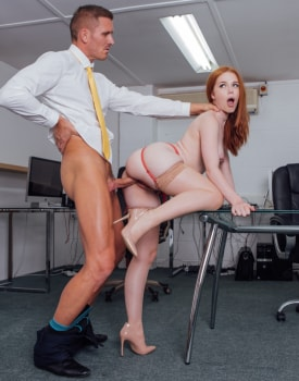 Ella Hughes Earns Her Job by Fucking the Boss-7