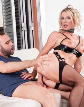 MILF Marina Beaulieu Enjoys Anal While Her Husband Watches-6