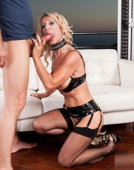 MILF Marina Beaulieu Enjoys Anal While Her Husband Watches-9