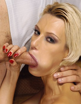 Saucy Blond Tanya Gets A Mouthful Of Cum-4
